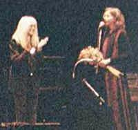 Picture of Carolyn Hester and Nanci Griffith